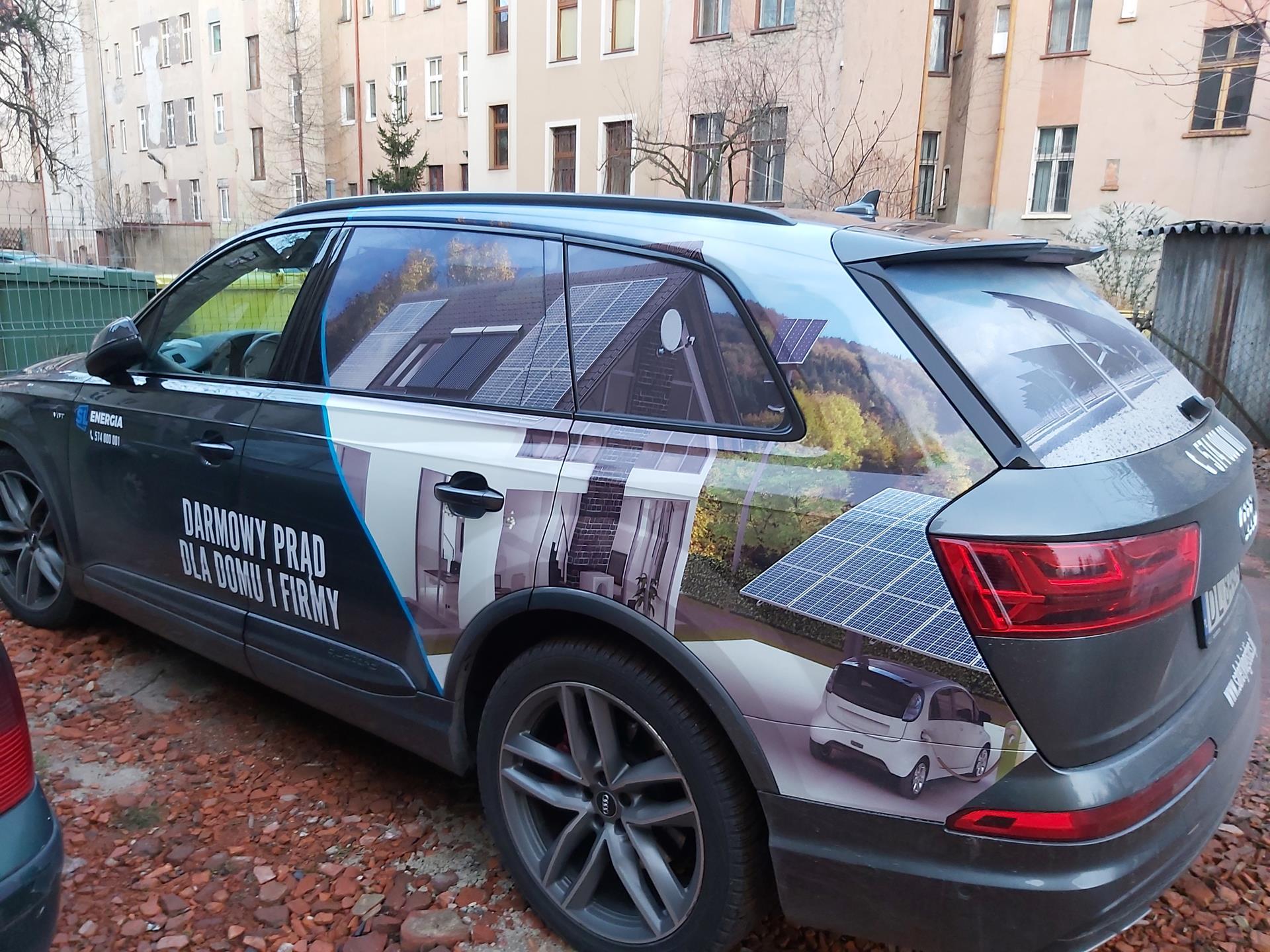 oklejanie samochodów - druk wielkoformatowy Legnica