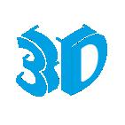 liery 3D na dystansach
