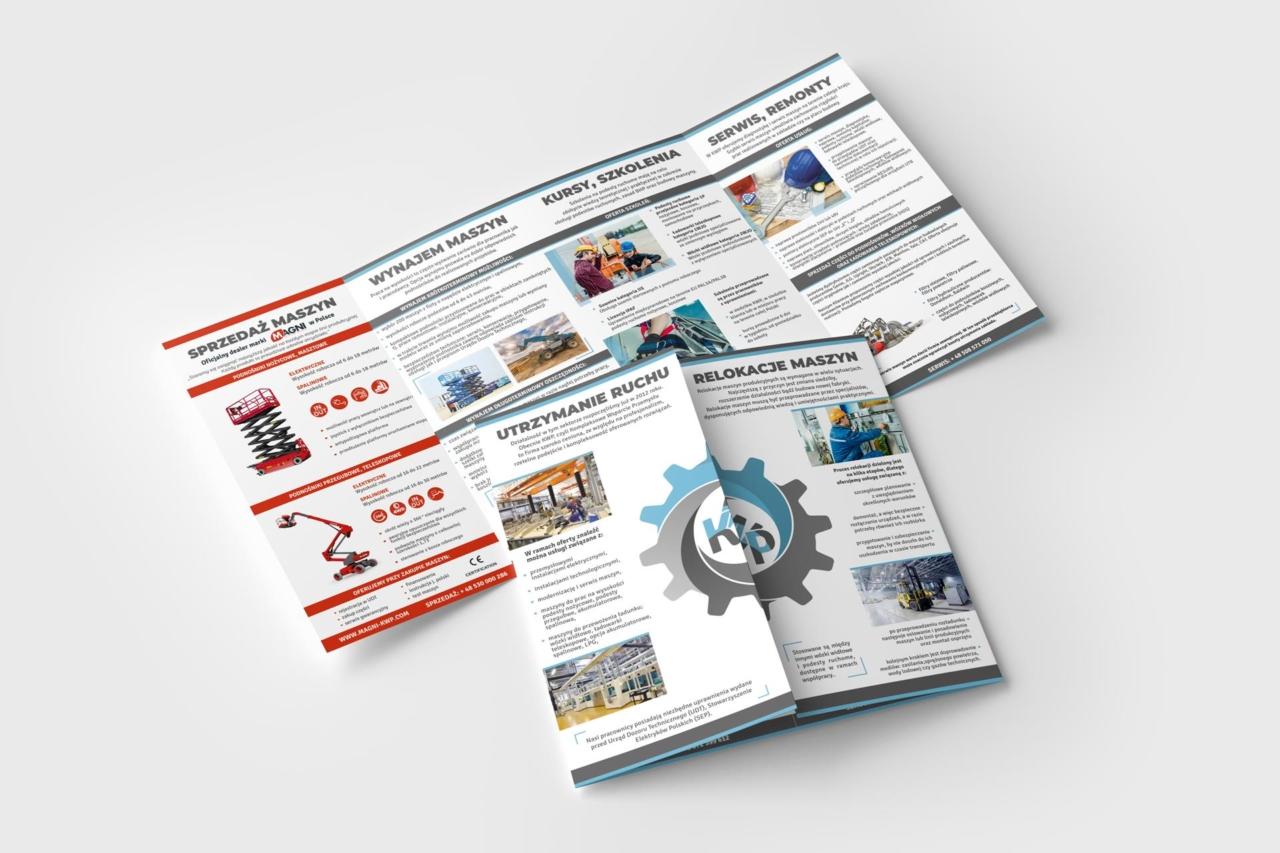ulotki reklamowe - tworzenie projektów Legnica